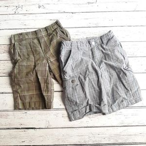 CARTERS / KENNETH COLE Boys Plaid Shorts Size 5